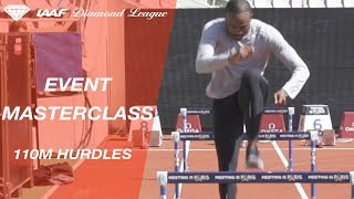 Event Masterclass: How to do hurdle drills with Aries Merritt and Andreas Behm - IAAF Diamond League