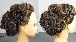 Beautiful Juda For Wedding/Party    hair style girl    hairstyles for girls    cute hairstyles 2019
