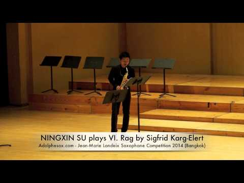 NINGXIN SU plays VI Rag by Sigfrid Karg Elert