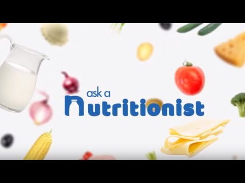 Welcome to Ask a Nutritionist!