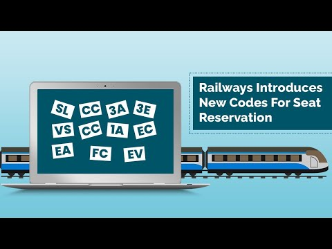 Railways Introduces New Coach Codes For Seat Reservation