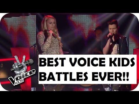 TOP 5 BEST VOICE KIDS BATTLES IN THE WORLD!!