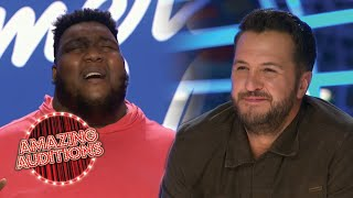 American Idol Judges Think Willie Spence Could Win A GRAMMY!   Amazing Auditions