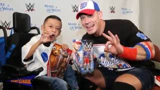"Make-A-Wish's Alex ""The Bulldog"" creates a custom John Cena Mattel action figure"