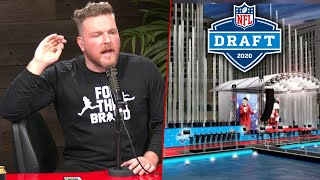 Pat McAfee's Thoughts On Vegas NFL Draft Information