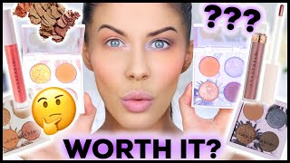 NEW ABH MAKEUP!! SUNSET & DAYLIGHT  COLLECTIONS - SWATCHES, DEMO & REVIEW!!