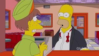 No real food at Krusty Burger