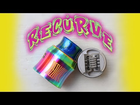 video Wotofo X Mike Vapes Recurve 24mm Bf Rda