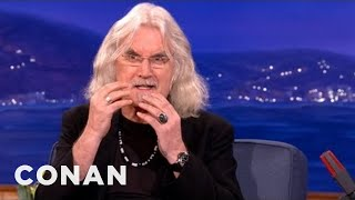Billy Connolly Smoked A Bible - CONAN on TBS