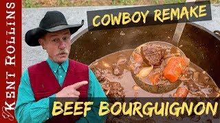 Beef Bourguignon with Julia Child | Cowboy Remake Beef Stew