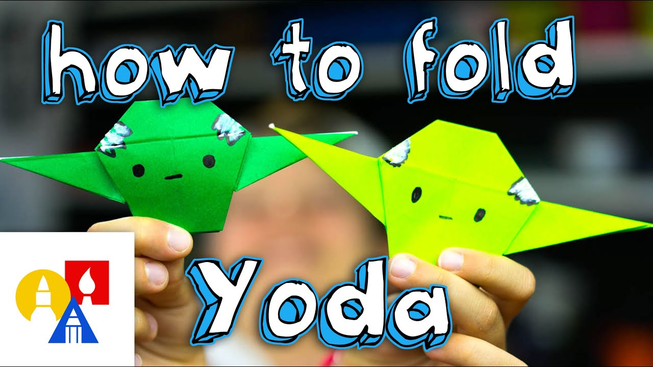 How to Fold | Star wars origami, Origami yoda instructions ... | 720x1280