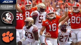 Florida State vs. Clemson Full Game | 2019 ACC Football