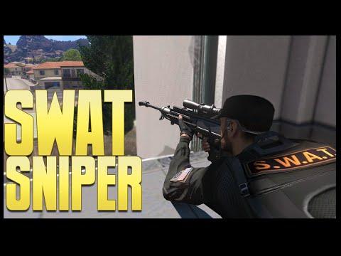 COPS - SWAT Sniper - (Altis Life RPG) (Arma 3)