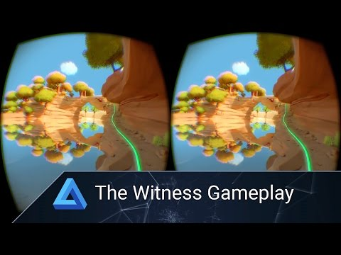 The Witness Oculus Rift Gameplay