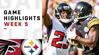Falcons vs. Steelers Week 5 Highlights | NFL 2018