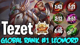 Global Rank 1 Leomord ft. Tezet - Rank Gameplay Seaon 13