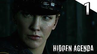 HIDDEN AGENDA Walkthrough Part 1 | PS4 Pro (60fps Gameplay)