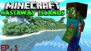"""LAND HO"" Minecraft Castaway Islands Ep. 1"