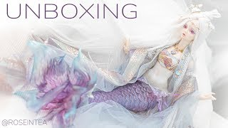 BJD Angell Studio (ASDOLL) Lesser Snow [Mermaid] Unboxing / Box Opening