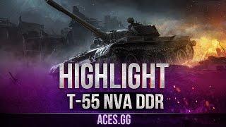 ГДРовец на карте Тундра! Т-55А