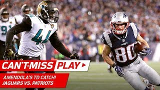 Tom Brady & Co. Drive Downfield for 4th Quarter TD! | Jaguars vs. Patriots | AFC Championship HLs