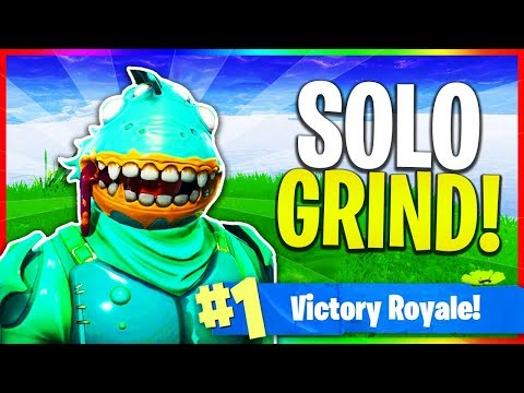 Solos & Solo Squad Grind! (Fortnite: Battle Royale LIVE Gameplay)