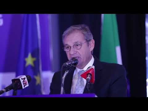 ECES Vice President Jose M. Pinto-Teixeira at the EU SDGN launch
