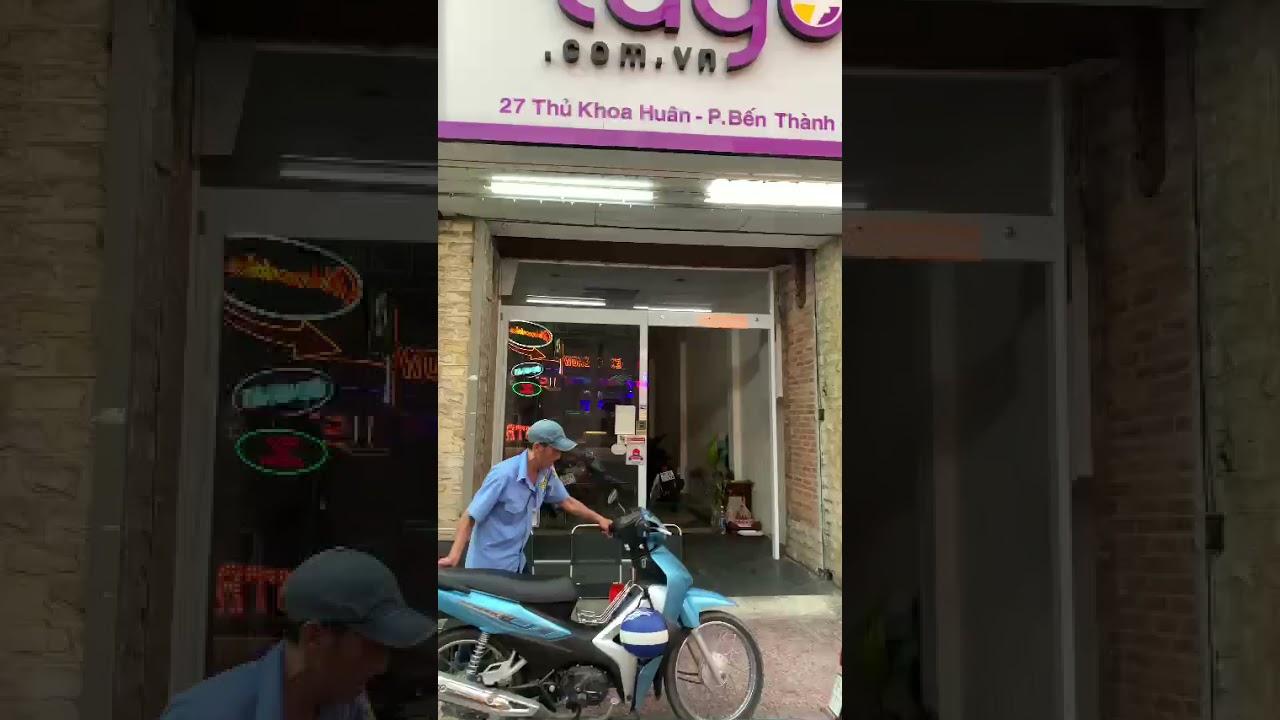 Cho thuê nhà 25 - 27 Thủ Khoa Huân, p. Bến Thành, q1 0938256208 chính chủ video