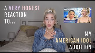 What It's Like to Audition for American Idol + A Very Honest Reaction to Mine | The Idol Series
