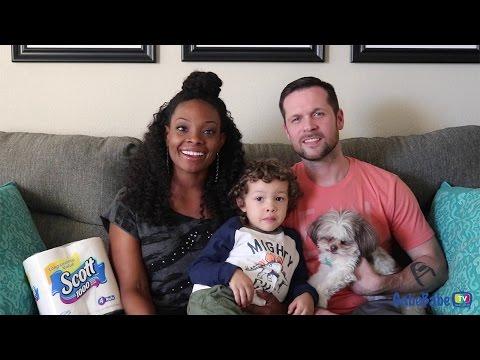 Meet Gabrielle, Chad, and Chad Jr. from GabeBabe TV -Scott® Brand