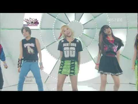 [Live] 120615 F(x) - Jet + Electric Shock @ Music Bank Comeback Stage