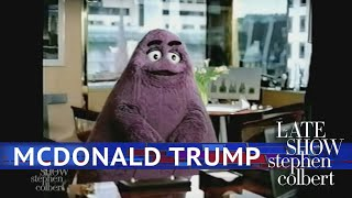 Grimace Puts Trump On The Hot Seat