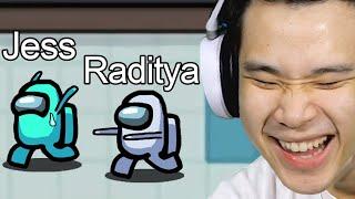 Dikejar Raditya Dika di Among Us Indonesia!