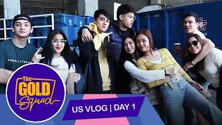1ST DAY SA U.S. WITH KATHRYN, PIOLO, INIGO, MAYWARD AND MORE FOR ASAP BAY AREA | The Gold Squad
