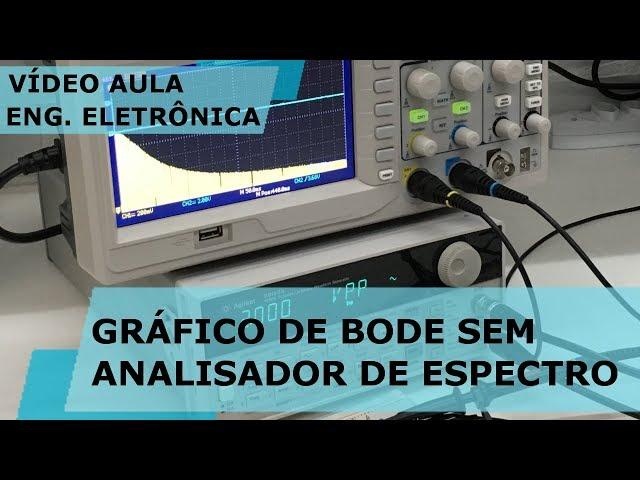 GRÁFICO DE BODE SEM ANALISADOR DE ESPECTRO | Vídeo Aula #234