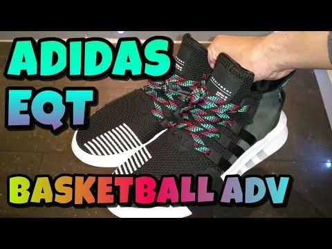 adidas eqt basket avanzata unboxing e revisione musicbaby su youtube
