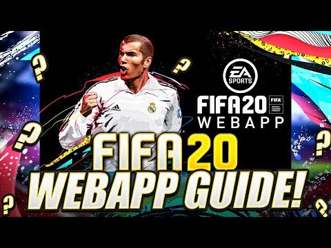 HOW TO START THE FIFA 20 WEB APP! FIFA 20 Ultimate Team