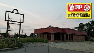 Abandoned Wendy's With Unlocked Freezers Wexford, Pa