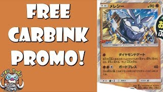 Carbink – Promotional Pokemon Card Given Free in Japanese Magazine!