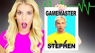 STEPHEN SHARER is the GAME MASTER! (Lie Detector Test and Hidden Secret Evidence)