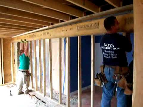 What Does A LVL Beam (Load bearing) Look Like? - YouTube