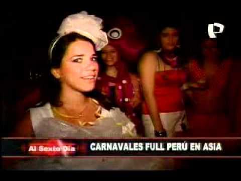 En exclusiva los carnavales Full Perú de las playas de Asia