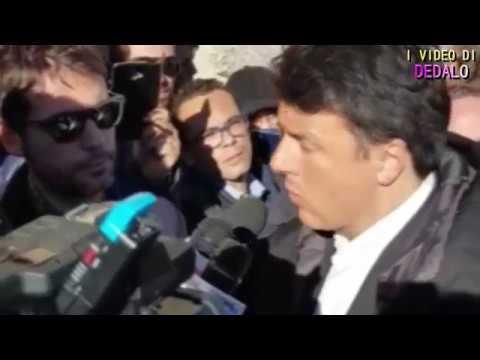 """Renzi: """"Superare il gap infrastrutturale della Sicilia"""""""