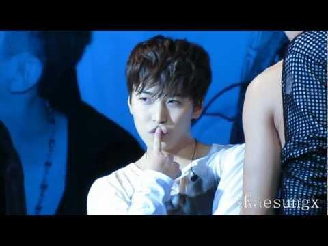 130224 Super Junior M Fan Meeting Chengdu - Sungmin Sexy Kiyomi