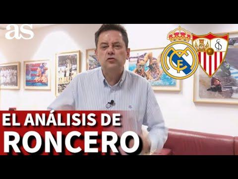 R.MADRID 2-SEVILLA 2   Roncero muy crítico con las decisiones arbitrales   Diario AS