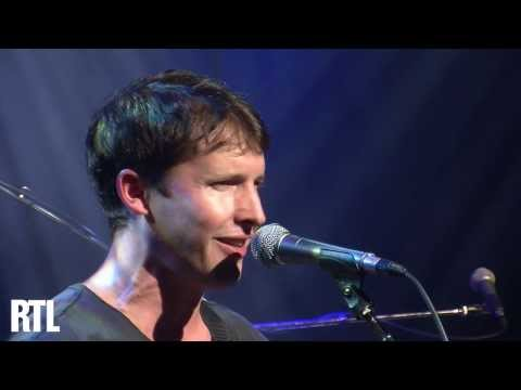 James Blunt - You're beautiful en live dans le Grand Studio RTL - RTL - RTL
