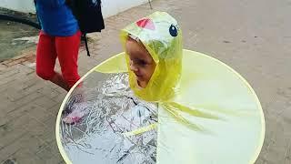 Смешной Зонтик Плащ для детей из АЛИЭКПРЕСС RAIN RAIN GO AWAY AliExpress for kids Umbrella