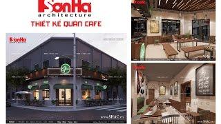 Mẫu thiết kế quán café độc đáo tại Hải Phòng – SH BCK 0040