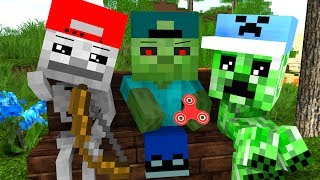 Mob Kids Life - Craftronix Minecraft Animation