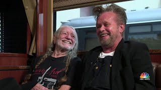 Willie Nelson And John Mellencamp Talk Farm Aid And Why It Continues   NBC Nightly News